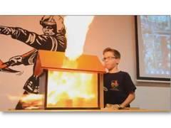 JF Rüdesheim Brandversuche